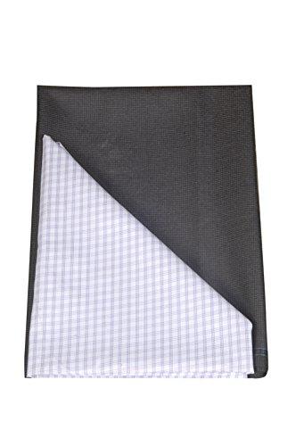 Kundan Sulz Gwalior Men\'s Executive Checks Shirt Piece & Fancy Trouser Fabric Combo Set - ( 1 Pant and Shirt Piece for Men ) ( 1.20 & 2.25 Meters )