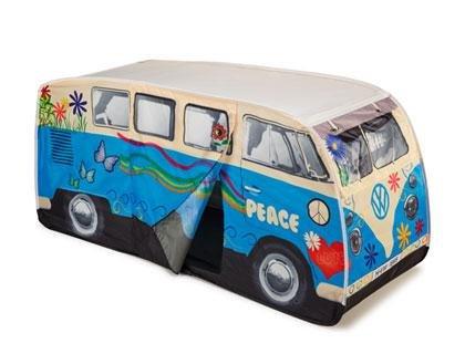 Preisvergleich Produktbild VW Bulli T1 Kinder Zelt,  Blau - 1H9069616