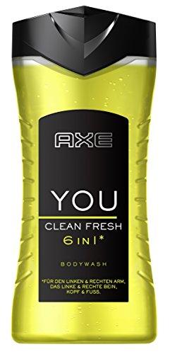 Axe Duschgel You Clean Fresh, 6er Pack (6 x 250 ml) (Shower Clean Parfüm Fresh)
