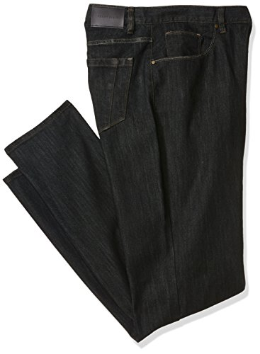 Perry Ellis herren Big and Tall Rinse With Black Tint Five Pocket Denim-men's  Jeans  -  blau -  (Ellis Big Perry Tall)