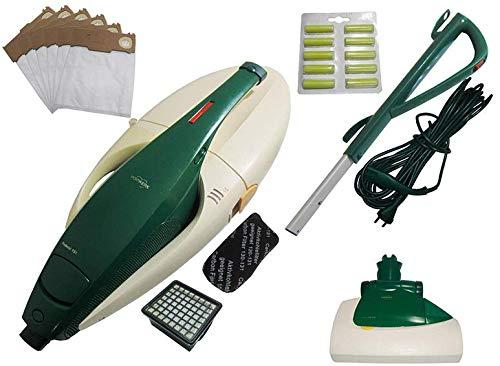 Vorwerk Kobold VK 131 + Elektrobürste EB 351 + Saugkanal + Kabel + Stiel inkl. neue Filter (Mikrofilter und Geruchsfilter) + 6 Vlies Beutel