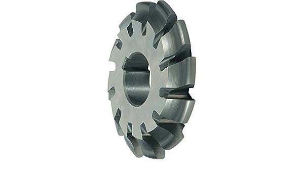 Alpen 335300770100 Zahnformfr/äser EW20G M 2// 7mm grau 2//7 mm