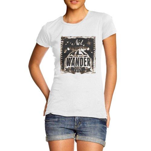 TWISTED ENVY Damen T-Shirt Weiß - Weiß