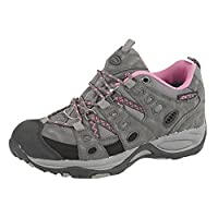 Johnscliffe Womens/Ladies Cascade Approach Trekking Shoes (3 UK) (Grey/Fuchsia)
