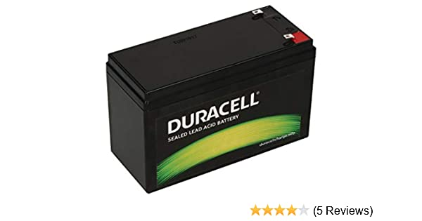 Duracell Car Battery Review >> Duracell Original Dr7 12 Valve Regulated Lead Battery 12v 7ah Replaces Apc Rbc17 Rnc2 Csb Gp1272f2 Lucas Lsla7 12 Panasonic Lc R127r2pg