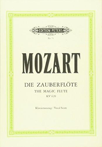 Die Zauberflöte KV 620: Oper in zwei Aufzügen / Klavierauszug
