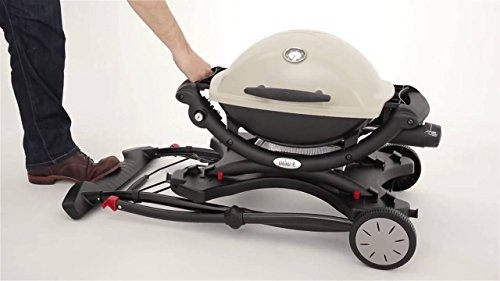 100% authentic best place new appearance Weber 6557 Chariot Pliable pour Barbecue Weber Q Séries 1000 et 2000
