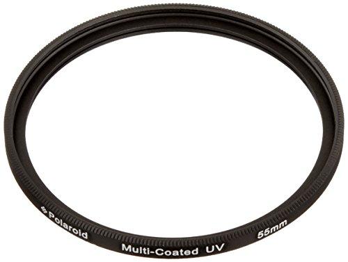 Polaroid Optics 55mm Mehrfachbeschichteter/ Multicoated Glass UV Filter