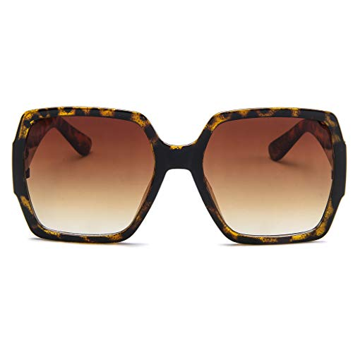 LIGEsayTOY Quadratische Sonnenbrille Unisex Retro Sonnenbrille Mode Sunglasses Sportbrille UV Golf Rechteckige Gold Grün Party Blau Biker Lesebrille Sportliche Racing Boho