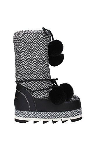 CU0295AD930HD264 Dolce&Gabbana Bottes Montantes Femme Tissu Noir Noir