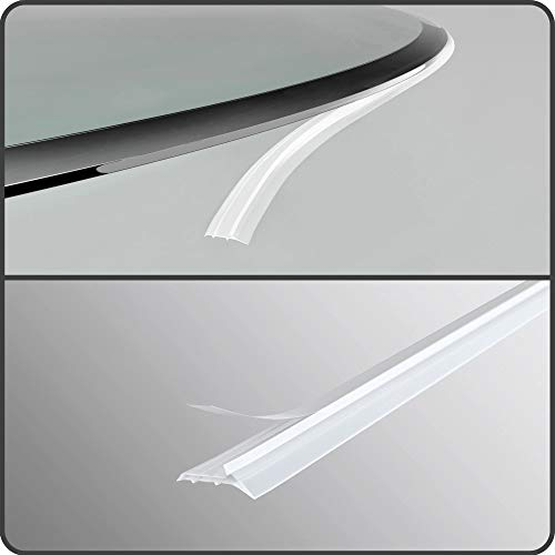 bijon® 4,6m   4-Fach Staubschutz-Dichtlippe für Kaminplatten