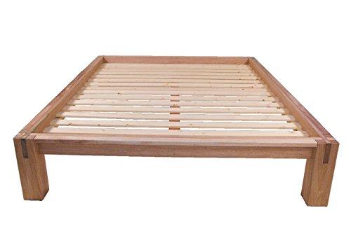 Bioecoshop letto giapponese in legno massello okume completo di