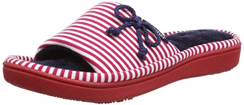 isotoner-women-heart-heeled-mule-open-back-slippers-multicolour-navy-pink-5-uk-38-eu