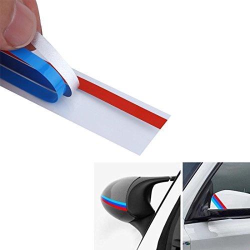 M Power Sport Streifen Aufkleber Aufkleber für BMW Serie 1 2 3 4 5 6 7 8 Z3 Z4 M3 M5 M6 X1 X3 X4 X5 X6 - Seite Vent Kühlergrill