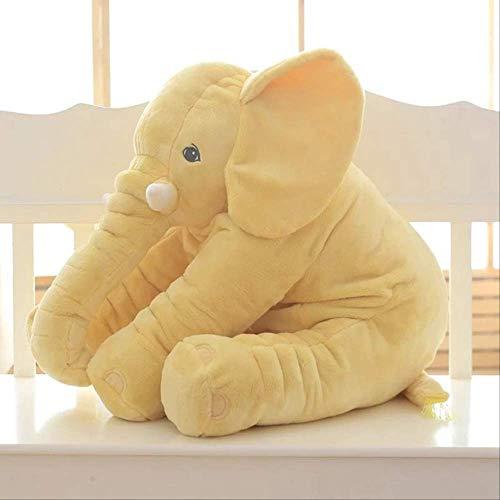 Kunstfell-elefant Tasche (MAICU Elefant Plüschtier, 40Cm Kissen Superweiches Nickerchen Kissen Kissen Baby Komfort Puppe Umweltschutz 40Cm Yellow60 Decke)