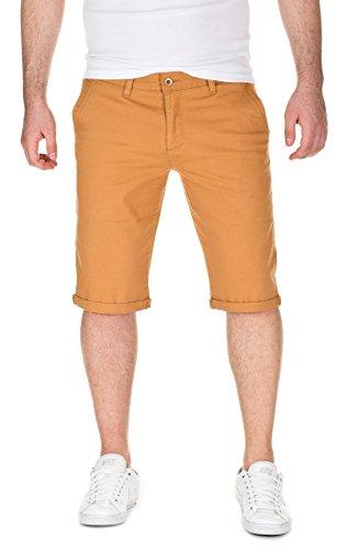 WOTEGA Herren Chino Shorts Bermuda Alex mustard gold (82295)