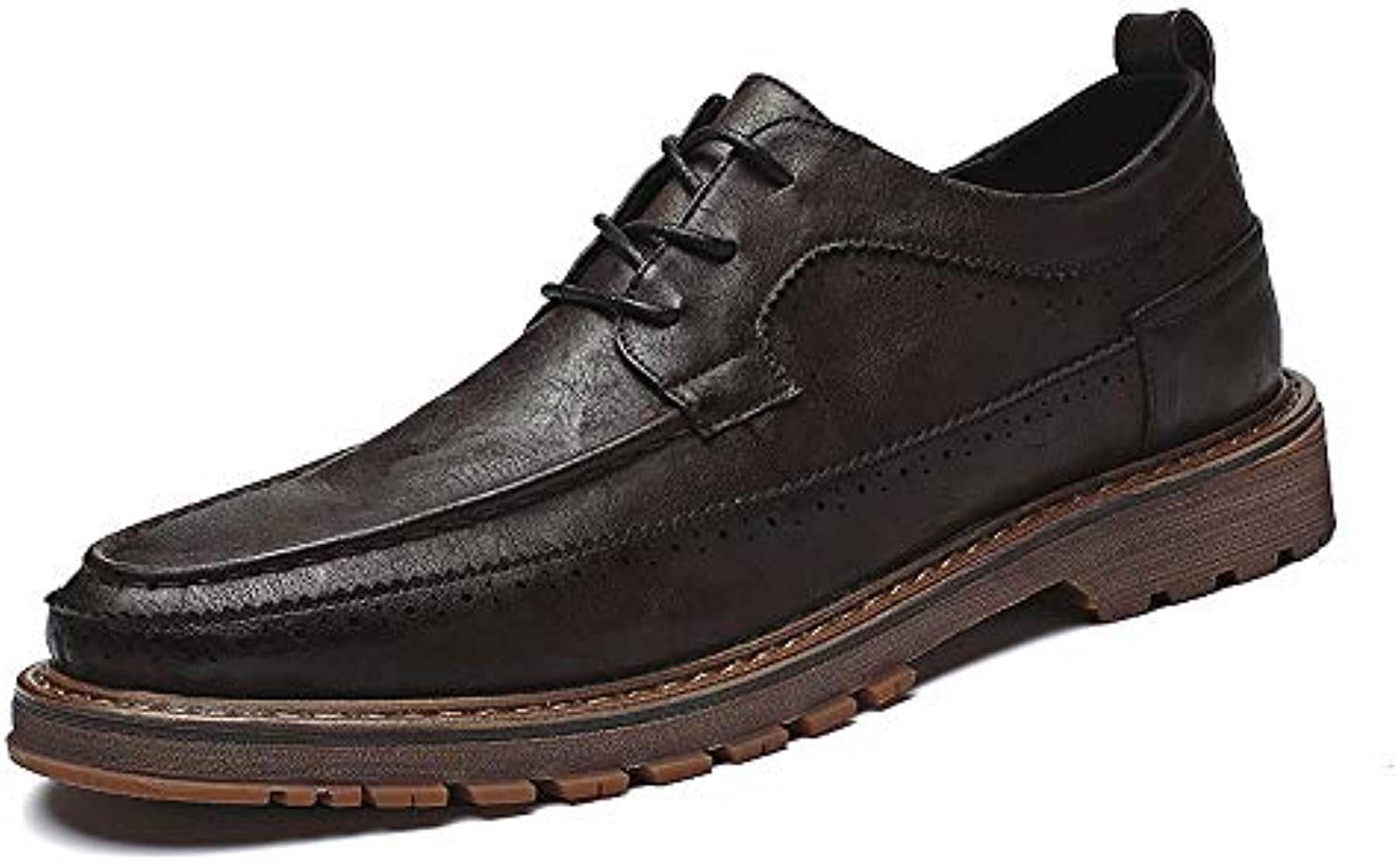 Xiaojuan-shoes, Men's Casual Fashion Business Oxford Outsole Autumn And Winter New Retro Ventilate Outsole Oxford Formal Shoes... 6defb5