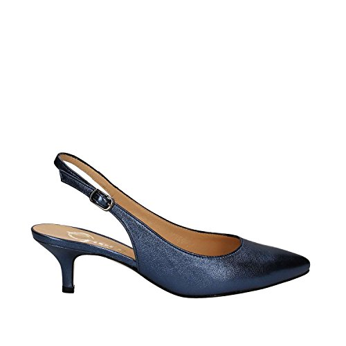 GRACE SHOES 867 Sandalo Tacco Donna Blu
