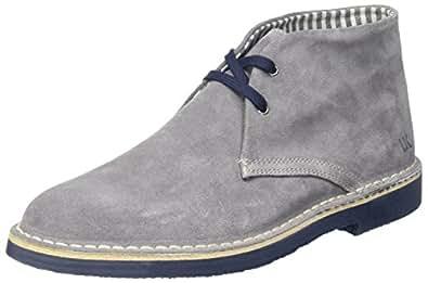 Gable, Sneaker a Collo Alto Uomo, Blu (Navy Blue Brick), 41 EU Lumberjack