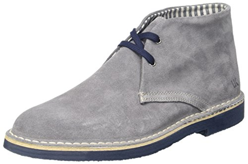 Lumberjack Gable, chaussures à lacets homme Grigio (Grey/Navy Blue)