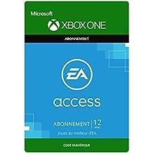 EA Access – Abonnement d'un an [Extension du Jeu] [Xbox One – Code jeu à télécharger]