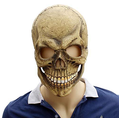 FENGFENGGUO Horrormaske, Halloween Latex Kopfbedeckung, Shantou Maske, Spukhaus, Geheimes Raum, Horror Requisiten, Thriller Artikel