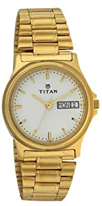 Titan Karishma Analog White Dial Men's Watch - NE390YM06