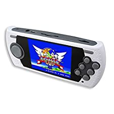Official Genesis Portable Game Player Handheld Console With Built In Games - Boxed New