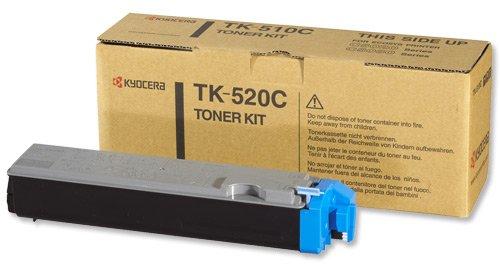 Preisvergleich Produktbild Kyocera 1T02HJCEU0 TK-520C Tonerkartusche 4.000 Seiten, cyan