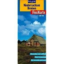 Polyglott FlexiKarten, Niedersachsen, Bremen
