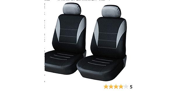 A1 2er Vordere Sitzbezüge Schonbezüge Polyester Grau Schwarz Neu Auto