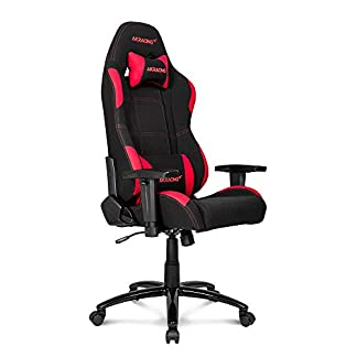 41EMLN8CfIL. SS324  - AKRacing EX-Wide PC gaming chair Upholstered padded seat - Sillas para videojuegos (PC gaming chair, PC, 150 kg, Upholstered padded seat, Upholstered padded backrest, Racing)