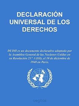 Declaración Universal de Derechos Humanos eBook: Naciones