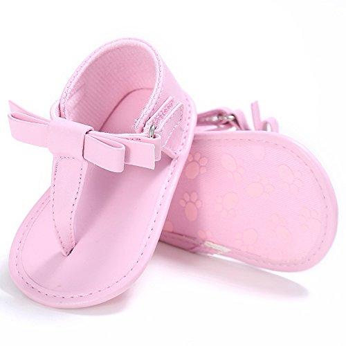 Estamico,Sandali bimba, Scarpe estive per bambini, Flip flops Rosa