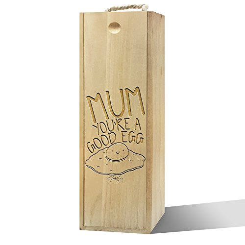 Twisted Envy Mum Sie ein guter Ei Holz Wein Box