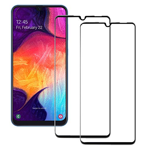 MOELECTRONIX 2X 5D Komplett FullCover 9H Glas Schutz Folie Screen passend für Huawei P20 Pro Dual SIM CLT-L29