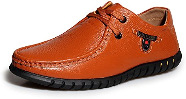 Oxford Brun Cuir De Minitoo Affaires Occasionnel Chaussures Les XBTqwOq