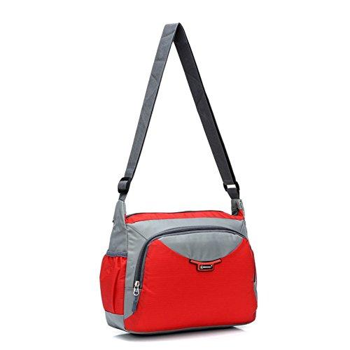Casual sac à bandoulière/package couple mâle et femelle/Sacs d'école/package Diagonal/Etanche sac de sport en nylon-H G