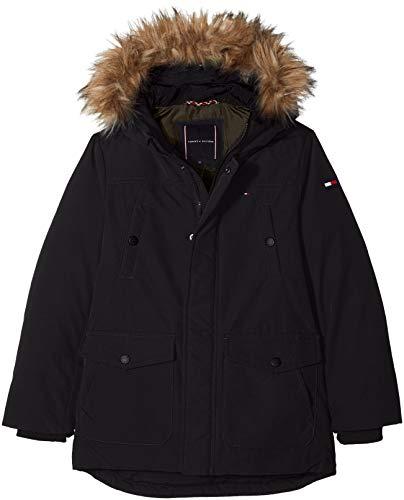 Tommy Hilfiger Jungen Jacke Arctic Parka, Schwarz Black 014, 164 (Herstellergröße: 14)
