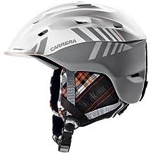Carrera Makani 2013/14 - Casco de esquí (con sistema de ventilación Venturi y perfecta adaptación) White Graphite Matte Talla:L/XL/XXL 59-61 cm