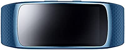 SAMSUNG SM-R3600ZBAXEF Gear Fit 2 Brazalete de fitness con GPS (talla L), color azul