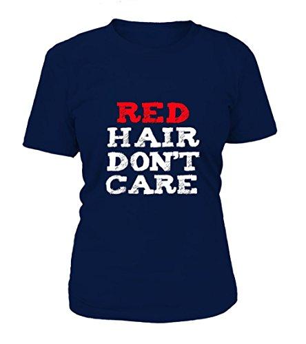 teezily Redhead T-Shirt Funny Cute Red Hair Don' T-Shirt Frauen