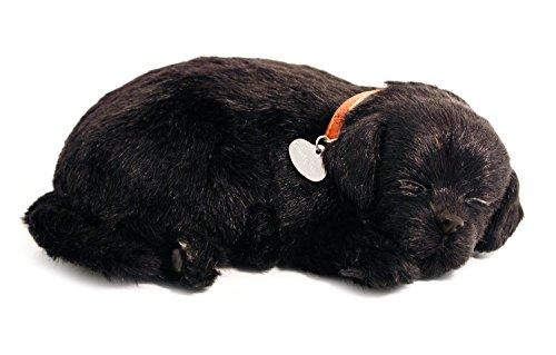 Perfect Petzzz 4910-Plüschhund- Labrador-schwarz