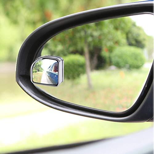 FG-Car blind angle mirror Toten Winkel Spiegel wasserdicht HD Glas konvexen Winkel Rückspiegel drehen Selbstklebende Türspiegel für alle Auto-SUV-LKWs