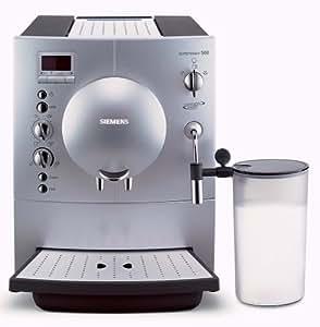 siemens surpresso s60 tk68001 kaffee espresso vollautomat. Black Bedroom Furniture Sets. Home Design Ideas