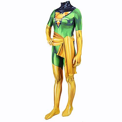 WEGCJU Erwachsene Kinder X-Men Phoenix Girl Party Leistung Kostüm Für Erwachsene Kinder Halloween Kostüm,Kids-XL (Girl Kostüm Iron)