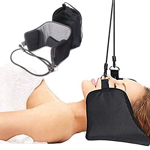 Wisewife - Hängematte, tragbare für Traction Gerät zur –, mit Hängematte, Schmerzlinderung für Hals Schulter Relaxer beruhigend bei Nacken-Massagegerät für die Gesundheit für die optimale Rücken