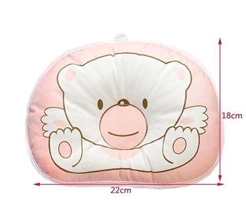 Hot Newborn Baby Boy Girl Anti-roll Pillow Flat Head Sleeping Positioner Bear