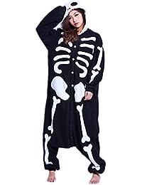 Samgu-Crane animal Pyjama Cospaly Party Fleece Costume Deguisement Adulte Unisexe