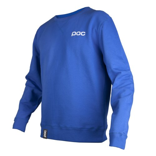 POC Pullover Crew Neck Blau (krypton blue)